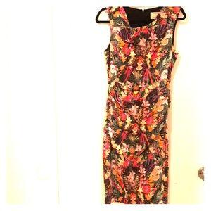 Tropical Nicole Miller tank dress a la D&G
